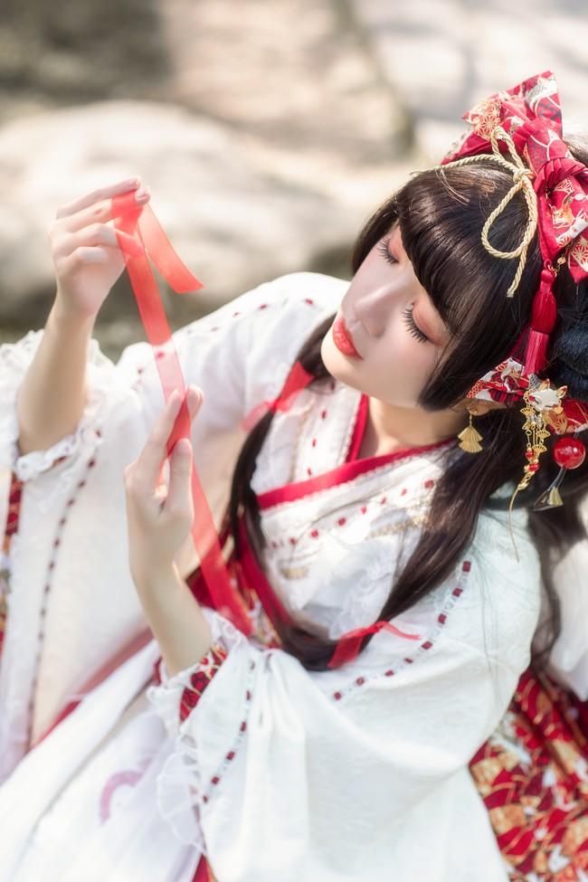 """【cos赏析】 lolita穿搭#稻荷恋-初见  -""""久违阳光般温柔。"""""""