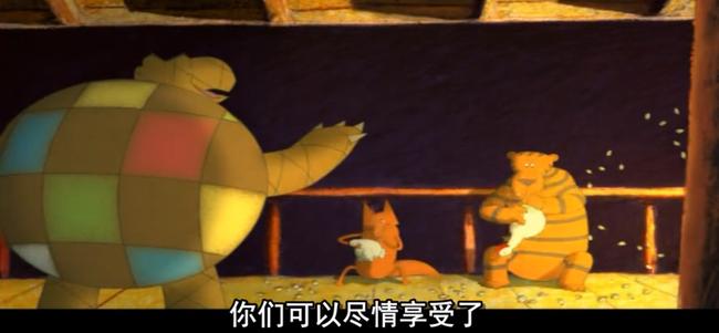 这部17年前的宣传片拍摄制作动画《青蛙的预言》 其实大有深意