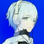 蓝色头发的阿基德